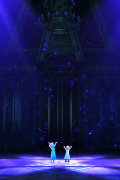 my-mouse-ears:  Frozen iPhone 4/4s wallpaper 2/3~ Anna & Elsa Enjoy!