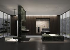 REPABAD - Project - #Bathroom planning à la Mies van der Rohe - Image-1