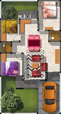 berkongsi gambar hiasan rumah teres setingkat contoh reka