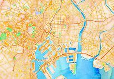 Stamen's New Web App Renders Digital Maps In Watercolor