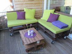 Outdoor Pallet Furniture