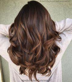 Balayage brun clair pour cheveux épais, #balayage #cheveux #clair #epais #hair