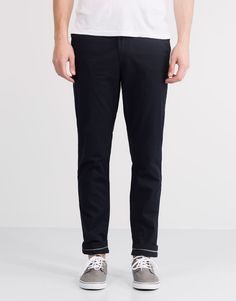 CHINO-STYLE TROUSERS - TROUSERS - MAN - PULL&BEAR Turkey