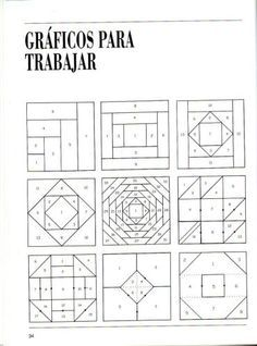 Patchwork Course – Courses and tutorials for crafts - Deutschland Ideen Barn Quilt Patterns, Paper Piecing Patterns, Patchwork Patterns, Patchwork Quilting, Pattern Blocks, Tutorial Patchwork, Patchwork Ideas, Patch Quilt, Quilt Blocks