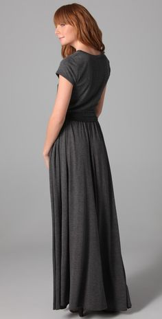 Heather Maxi Tee Dress | SHOPBOP