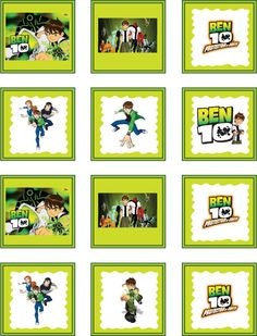 Free Ben 10 Printables Coloring Pages