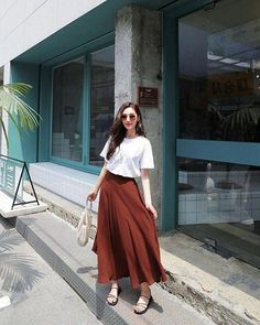 Elegant Fashion Styles Outfits Ideas For Women – Long Skirt Outfits, Modest Outfits, Classy Outfits, Modest Fashion, Chic Outfits, Trendy Outfits, Fashion Outfits, Long Skirt Fashion, Fashion Fashion