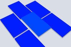 Perspective mobile app bundle mockup by Marek Leschinger on @creativemarket