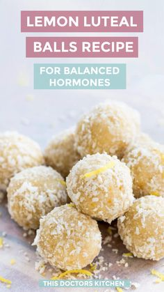 1 - 2 of these balls gives you your daily dose of sesame seeds to improve progesterone levels and balance hormones in the second half of your cycle. Équilibrer Les Hormones, Foods To Balance Hormones, Seed Cycling, Women's Cycling, Cycling Jerseys, Healthy Desserts, Healthy Recipes, Healthy Food, Yummy Food
