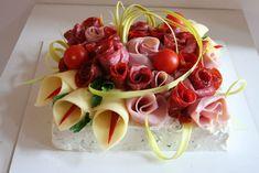 Slané dorty – Vařeniště Sandwich Cake, Sandwiches, Food Bouquet, Antipasto, High Tea, Charcuterie, Food Art, Buffet, Food And Drink