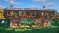 Minecraft Wooden House, Real Minecraft, Minecraft Shops, Minecraft House Plans, Minecraft Houses Survival, Minecraft Cottage, Minecraft House Tutorials, Cute Minecraft Houses, Minecraft Room