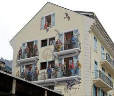 des murs peints d'Angoulême... Capitale de la BD!.