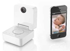 I need this! The Withings Baby Monitor lets you control humidity, temperature and noise levels in the baby's room. The 3-megapixel camera has night mode vision, can take a picture, and you can play music, a lullaby or speak to your child to soothe them back to sleep with the sound of your voice. Now you can be take care and be with your baby anytime, anywhere!