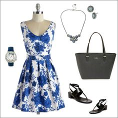 Floral Fashions for Spring