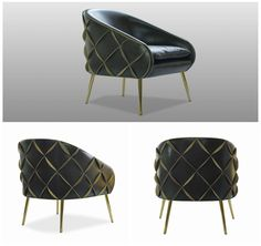 Style code 101, our Dali chair in brown/tan leather. #inspiration #iconic