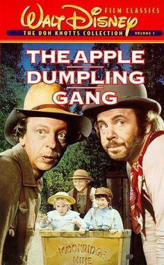 """""""THE APPLE DUMPLING GANG"""" (1975) DON KNOTTS, TIM CONWAY, BILL BIXBY"""