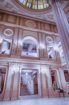 Braila Romania Maria Filotti theater most beautiful theaters romanians culture eastern europe 1 Eastern Europe, Romania, Theater, Architecture Design, Most Beautiful, Places To Visit, Culture, Lifestyle, Building