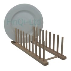 New Beech Wood Wooden Long 10 Plates Plate Rack Stand Holder Drainer  Kitchen In Home, Furniture U0026 DIY, Cookware, Dining U0026 Bar, Food U0026 Kitchen  Storage