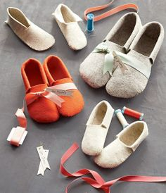 DIY Cutest House Slippers ever!:)