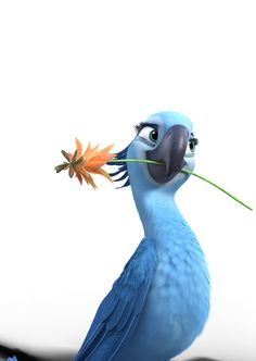 Character from Rio 2