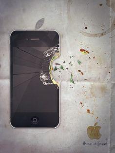 "Apple iPhone ""think different"" by Patrik Powalowski"