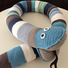Hæklet slange - DIY