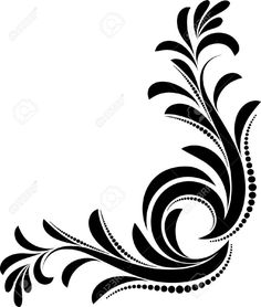 Beautiful Floral Corner Royalty Free Cliparts Vectors And Stock