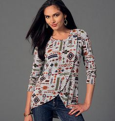 McCall's Misses' Tops 7247