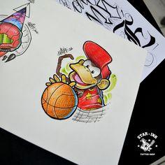 Diddy Kong Churus Savioli Fanart Drawing Cartoon Characters, Character Drawing, Game Character, Cartoon Art, D Tattoo, Tattoo Shop, Desenho New School, Sailor Jerry Flash, Diddy Kong