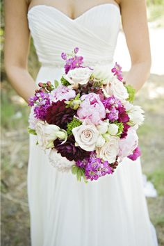 purple's not MY color, but I love the dahlias in this!