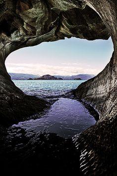 Cueva de Marmol in Chile (Photo: Carlos Cerulla on Flickr) https://www.yahoo.com/travel/daydream-cuevas-de-marmol-92564764212.html
