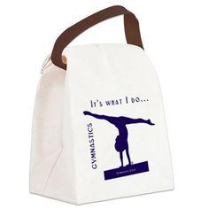Gymnastics Lunch Bag - Do on CafePress.com