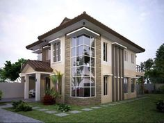 We've gathered our favorite ideas for Contemporary Elegant Residential House Design Home Design, Explore our list of popular small living room ideas and tips including Contemporary Elegant Residential House Design Home Design. Zen House Design, Village House Design, House Front Design, Modern Zen House, Modern House Plans, Architecture Site Plan, Philippines House Design, Beachfront House, Facade House