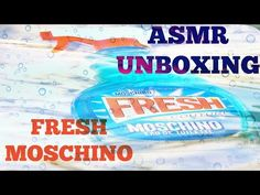 ASMR Unboxing Whisper, tapping, scratching, Perfume Moschino Fresh Couture - Asmr Beauty Sleep - YouTube