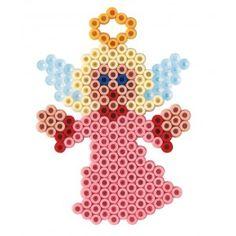 engle-pynt-til-jul-og-nytar-1100-hama-midi-perler.jpg (300×300)