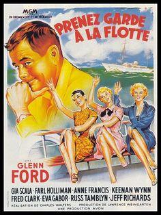 Una Pagina de Cine 1957 Dont go near the water - Vaya marineros (bel) 01.jpg