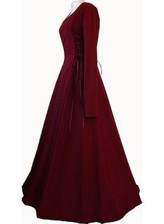 Eleonore Bordeaux dornbluth.co.uk - medieval dresses