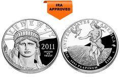 Proof Platinum American Eagles - 1 oz. (2012 & Prior)