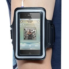 Black Sport Armband for iPhone 4/4S /iPhone cover