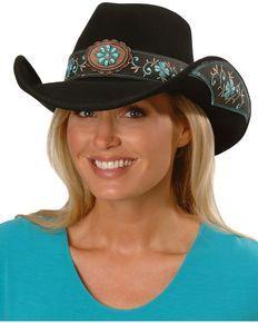 Bullhide All For Good Wool Cowboy Hat, Black