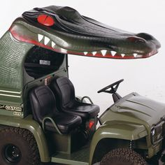 See Ya Later Alligator  Fiberglass Canopy for John Deere Gators with Steel Bed & CANOPY - UTILITY VEHICLE John Deere GATOR - UTILITY VEHICLE ...