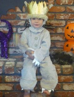 """This is our son Max, 3. We thought it would be fun if he dressed as Max from Where the Wild Things Are since they share they same name and he really loves the book."" - Stacey, California"