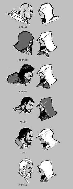 Templarios vs Asesinos (Templars vs Asassins)