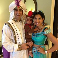 aladdin jasmine and abu costumes - Google Search