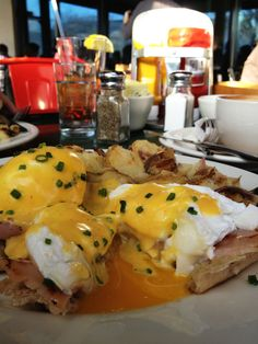 Eggs Benedict | West Egg Cafe | Atlanta Georgia
