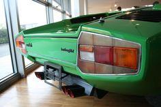 Lamborghini Countach LP400 rear, at the Museo Di Lamborghini
