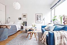 Amenajare scandinavă într-o garsonieră de 38 m² | Jurnal de design interior