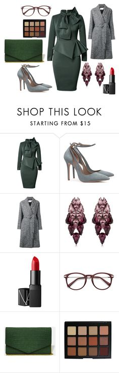 """""""* MEGASTRUCTURE by bOO *"""" by boo-sandra on Polyvore featuring Alexander Wang, Ellen Conde, NARS Cosmetics and Morphe"""