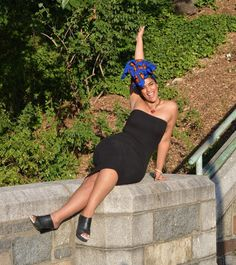 When the weekend is within reach!  Product: Femi Silk Lined Headwrap  Shop @ http://ift.tt/1kuHFKj  Tags: #ceeceesclosetnyc #ceeceescloset #headwraps #headwrap #nyc #nycstreetstyle
