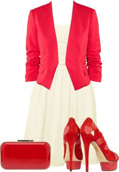 """""""Valentine's day outfit."""" by ramayanna ❤ liked on Polyvore"""